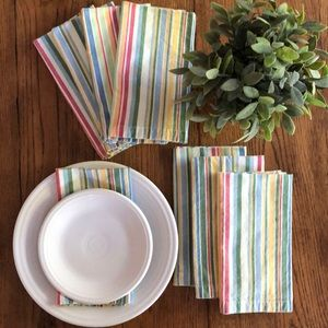 Set of 8 Cotton Napkins